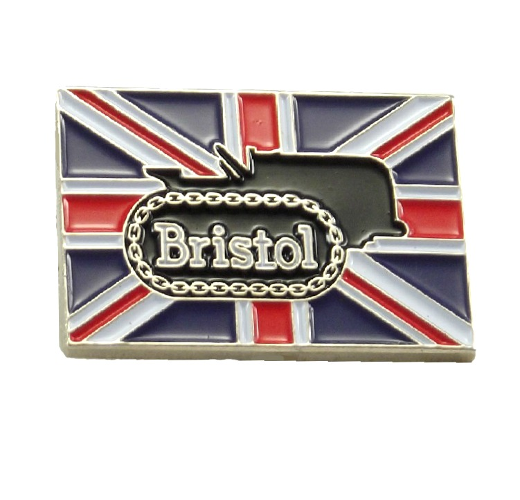 Bristol 10 Crawler Tractor Badge