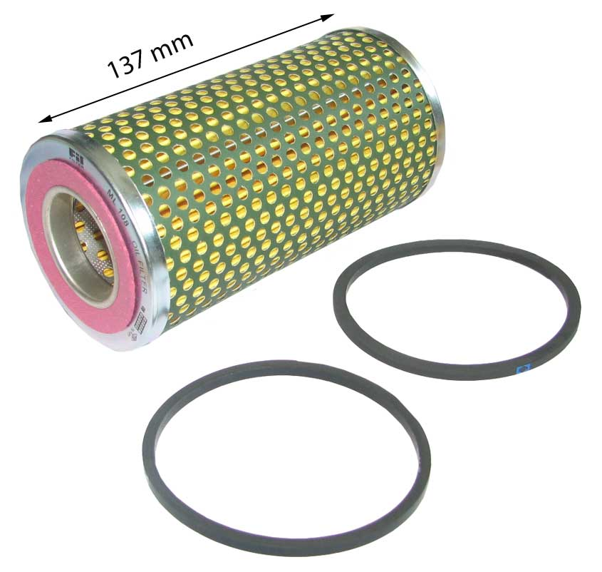 fordson major tractor hydraulic oil filter 137mm