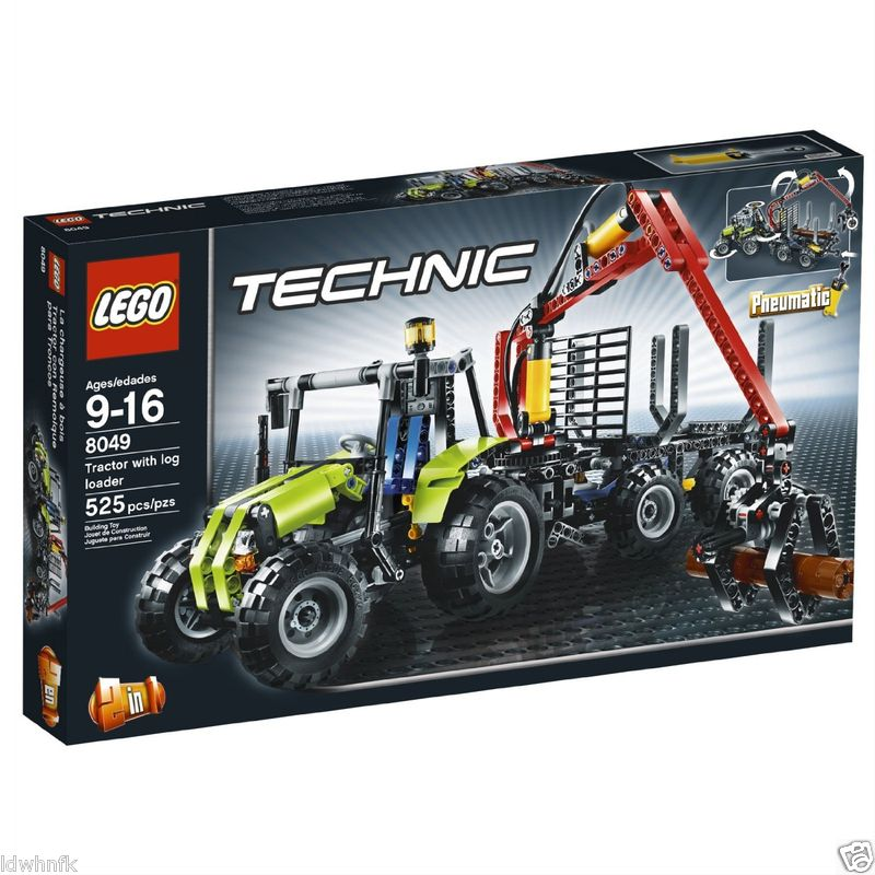 LEGO 8049 Technic - Tractor & log loader