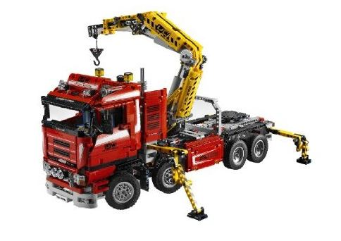lego 8258 technic crane truck. Black Bedroom Furniture Sets. Home Design Ideas