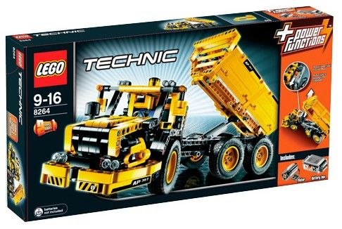 lego 8264 technic articulated lorry inc power functions pack. Black Bedroom Furniture Sets. Home Design Ideas