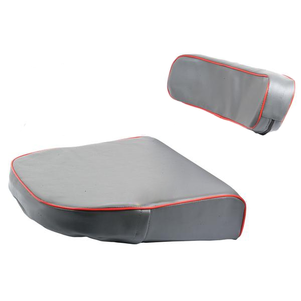 Metal Tractor Seat Replacement : Massey ferguson seat cushion back rest inc steel backing