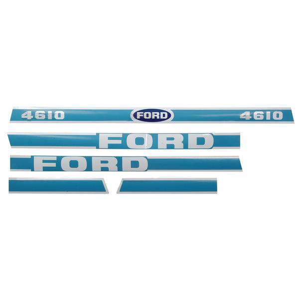 Ford Tractor Decal Set P