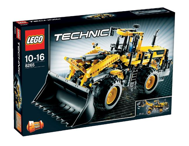 lego 8265 technic loading shovel. Black Bedroom Furniture Sets. Home Design Ideas