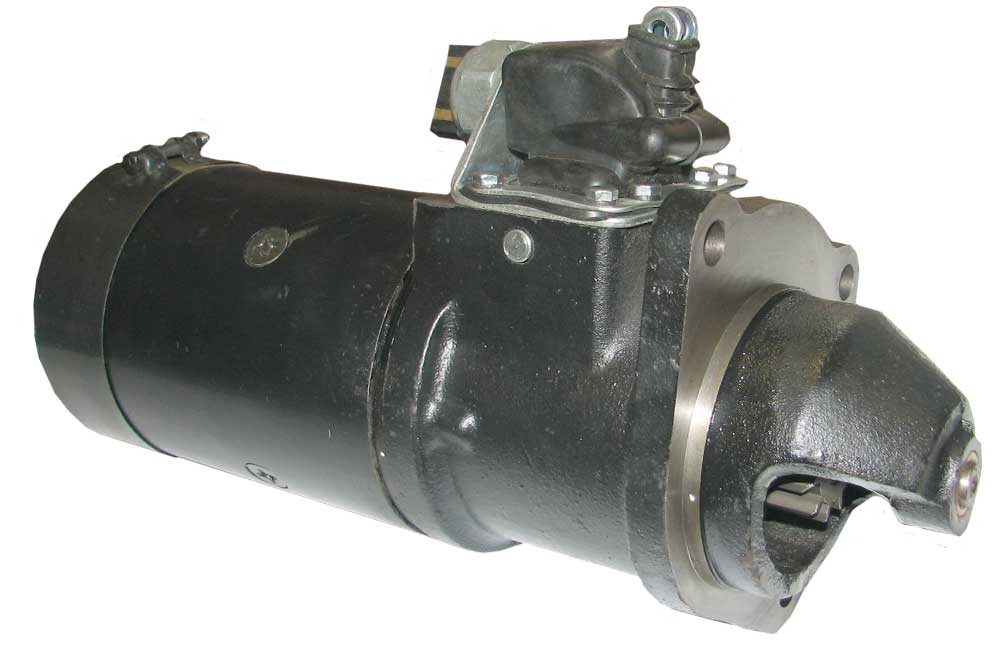 Nuffield Starter Motor As Original With Lever P